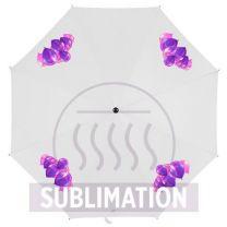 Reklamowy parasol manualny Ø90 cm, z nadrukiem logo - V4215 - Agencja Point