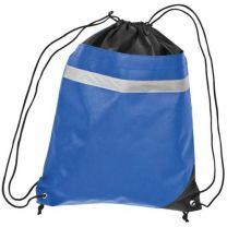 Reklamowy worek sportowy z paskiem odblaskowym, z logo - 60047-04 - Agencja Point
