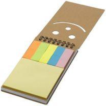 Reklamowy zestaw do notatek, karteczki samoprzylepne z logo - V2981-16 - Agencja Point