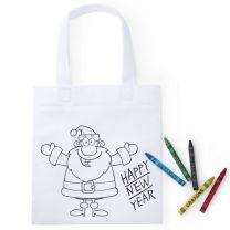 Świąteczna torba do kolorowania - V9689-02 - Agencja Point