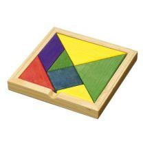 Tangram reklamowy - układanka drewniana z logo - tabliczka magnetyczna  - R08824 - Agencja Point