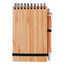 Notes bambusowy A6