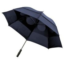 Wiatroodporny parasol manualny Ø130 cm, z nadrukiem logo - V4213 - Agencja Point
