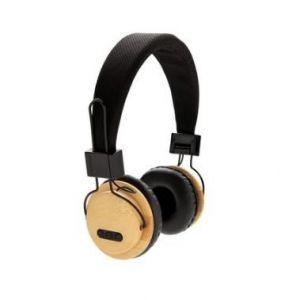 Bambusowe słuchawki bezprzewodowe