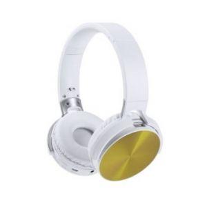 Bezprzewodowe, nauszne słuchawki reklamowe